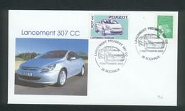 Sochaux  Lancement De La Peugeot 307 CC Le 11 Septembre 2003 - Automobili