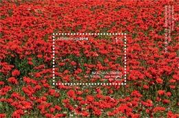 Azerbaijan Stamps 2019 NAKHCHIVAN Poppy Field. Julfa Region Flowers - Azerbeidzjan