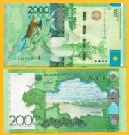 Kazakhstan 2000 Tenge P-41(1) 2012 UNC Banknote - Kazachstan