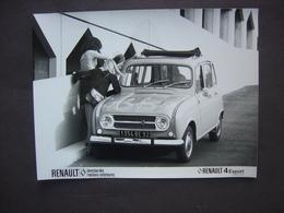 Photo 18 X 24 - RENAULT 4 EXPORT - Automobiles
