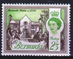 Bermuda Elizabeth II 1962 Single 2/3d Stamp From The Definitive Set. - Bermuda