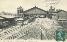 Calais - La Gare Centrale - L'Intérieur - Calais