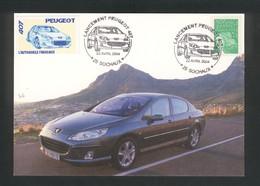 Sochaux   Lancement De La Peugeot 407 Le 22 Avril 2004 - Automobili