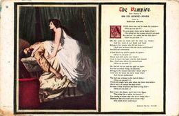 The Vampire After Painting By Sir Ed Burne Jones Postcard - Ansichtskarten
