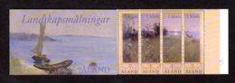 ALAND 2003 - Carnet Yvert N° C 219 - Facit H14 - NEUF ** / MNH - Booklet - Art, Paysage D'été - Aland