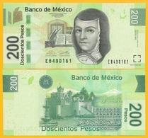Mexico 200 Pesos P-125 2014 (Serie AW) UNC Banknote - Mexiko