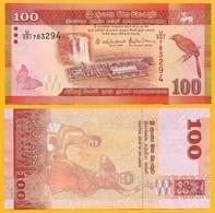 Sri Lanka 100 Rupees P-125 2016 UNC - Sri Lanka