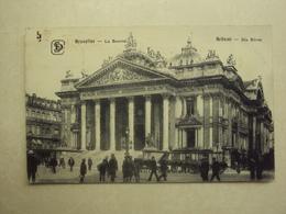 32764 - BRUXELLES - LA BOURSE - ZIE 2 FOTO'S - Monuments, édifices