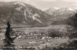 RUHPOLDING MIT RAUSCHBERG-REAL PHOTO-1956 - Ruhpolding