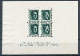 Deutsches Reich Block 7 Gestempelt Mi. 16,- - Deutschland