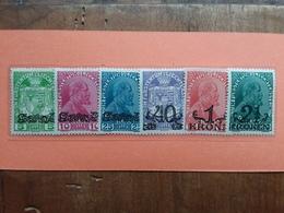 LIECHTENSTEIN - Principe Giovanni II° - Sovrastampati - Nn. 11/16 Nuovi * + Spese Postali - Unused Stamps