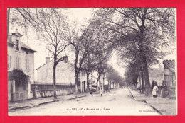 F-87-Bellac-09Ph54  Avenue De La Gare, Cpa BE - Bellac