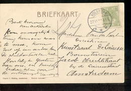 Volendam Langebalk - 1918 - Marcofilia