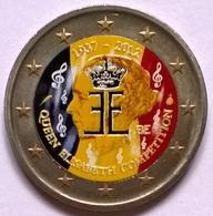 Belgique - 2 Euros Couleurs - 2012 - 75 Ans Concours Reine Elisabeth_v1 - België