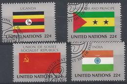 NN-/-649-   U.R.S.S., OUGANDA, INDE, St THOMAS - N° 444/47, Cote =  6.80 €,  Voir Scan Pour Detail ,  Liquidation - New York - Sede Centrale Delle NU