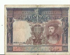 BILLET 1000...MIL PESETAS MADRID 1925 - [ 1] …-1931 : Premiers Billets (Banco De España)