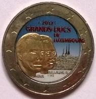 Luxembourg - 2 Euros Couleurs - 2012 - Grands Ducs De Luxembourg - Luxemburgo