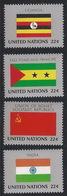 NN-/-434-.OUGANDA, St THOMAS, URSS, INDE - N° 444/47,  * *   , COTE 7.00 € , LIQUIDATION - New York - Sede Centrale Delle NU