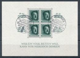 Deutsches Reich Block 11 Gestempelt Mi. 60,- - Germania