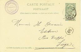 Carte Postale CHENEE 1900  - Cachet Privé Ch. DESCARDRE - Pépiniériste - Non Classés