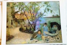GAUGUIN PAUL.... RUE CARCEL LES ENFANTS AU JARDIN - Peintures & Tableaux