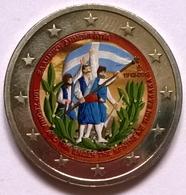 Grèce - 2 Euros Couleurs - 2013 - 100 Ans Rattachement De La Crète - Grèce