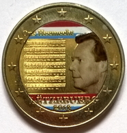 Luxembourg - 2 Euros Couleurs - 2013 - Hymne National - Luxemburgo