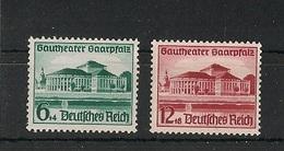 1938 - DR Mi 673/674 - MH - Ungebraucht