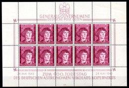 Ocupación Alemania Gobierno General Minipliego N ºMichel 104 ** Valor Catálogo 30.0€ - Occupation 1938-45