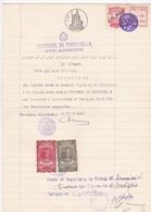 DOCUMENTO IN CARTA BOLLATA L. 24 -  COMUNE DI TREVIGLIO - UFFICI DEMOGRAFICI (BERGAMO)  - 1948 - Historische Dokumente
