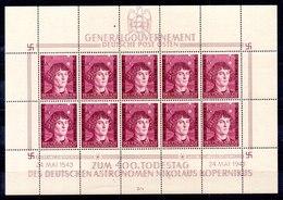 Ocupación Alemania Gobierno General Minipliego N ºMichel 104 ** Valor Catálogo 30.0€ - Besetzungen 1938-45
