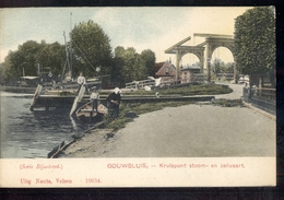 Gouwsluis - Kruispunt Stoom Zeilvaart - 1910 - Sonstige