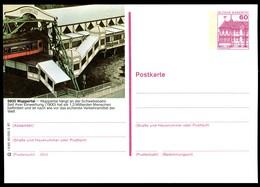 73268) BRD - P 138 - R5/65 - * Ungebraucht - 5600 Wuppertal, Schwebebahn - Cartoline Illustrate - Nuovi