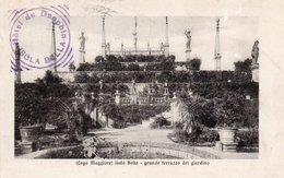 ISOLA BELLA-GRANDE TERRAZZO DEL GIARDINO-1912 - Verbania
