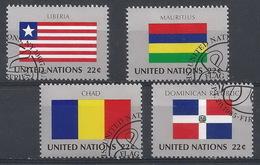 NN-/-742- REP. DOMINICAINE, TCHAD, LIBERIA, MAURICE - N° 448/51, OBL. Cote = 6.80 €, Voir Scan Pour Detail , LIQUIDATION - New York - Sede Centrale Delle NU