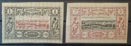 OBOCK - MLH - YT 6, 7 - 1c 2c - Unused Stamps