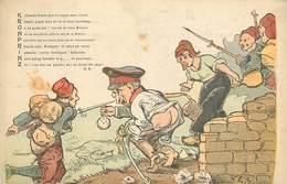 GUERRE 1914-18 -  Kronprinz, Carte Satirique. - War 1914-18