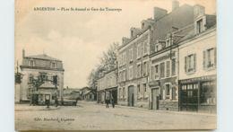 36* ARGENTON   Pl St Amand - Gare Tram - France