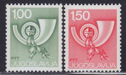 Yugoslavia 1977 Definitive - Automaton, MNH (**) Michel 1695-1696 - Ungebraucht