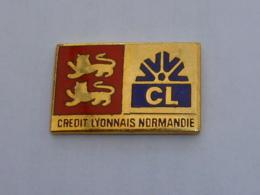 Pin's BANQUE CREDIT LYONNAIS DE NORMANDIE - Banche
