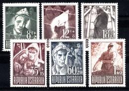 AUTRICHE 1947  Mi.nr.: 829-834 Kriegsgefangene  Neuf Sans Charniere-MNH-Postfris - 1945-.... 2de Republiek