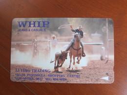 GPT Phonecard,1SWJA,WHIP Jeans,cowboy ,mint - Singapur