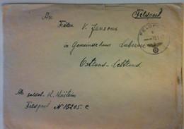 1942 LATVIJA Feldpost - Letland