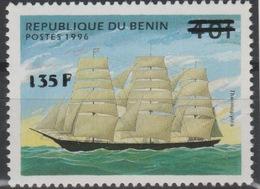 Bénin 2000 Mi. 1242 Voilier Sailing Ship Segelschiff Boot Boat Schiff Thermopyles Surchargé Overprint MNH** - Bénin – Dahomey (1960-...)
