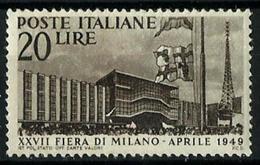 Italia Nº 536 Nuevo. Cat.10€ - 1946-60: Mint/hinged