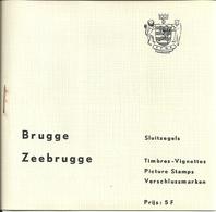 Brugge 18 -  Zeebrugge 6  Sluitzegels Timbres-Vignettes Picture Stamps Verschlussmarken 24 In Totaal - Cachets Généralité