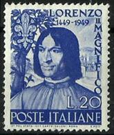 Italia Nº 547 Nuevo. Cat.15€ - 1946-60: Mint/hinged