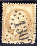 Remplaçant A.L.  GC 1302 Wardrecques (61 Pas De Calais). Ancien Bur. Dieuze   Ind Pothion 18 =300 Eu - Marcophily (detached Stamps)