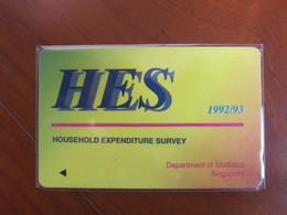 GPT Phonecard,1SHEA  HES,used - Singapur