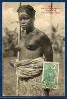 Sénégal - Afrique - Carte Postale - Dakar - Jeune Femme Mina - Sein Nu - Senegal